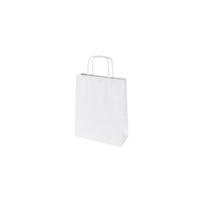 Torby papierowe białe gładkie – bez nadruku