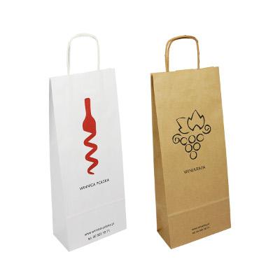 Alkoholpapiertaschen – mit Aufdruck