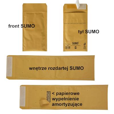 Koperty 100% papier SUMO® – standard