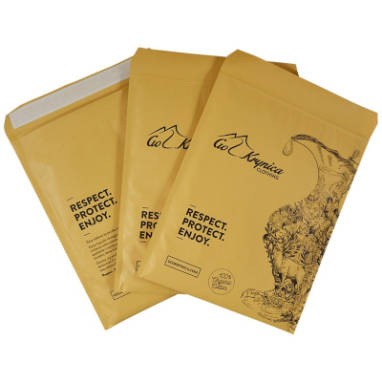 paper padded SUMO® peel & seal eco pockets – custom printing