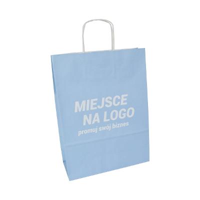 pastel paper eco bags – custom printing