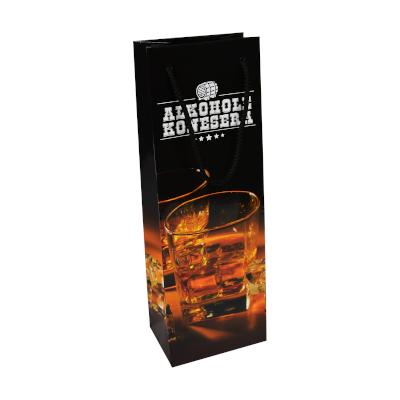 Torby Premium na alkohol – z nadrukiem