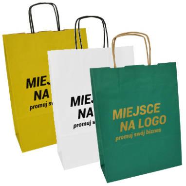Nadruki na torbach gotowych – ilości od 50-4.500 szt.