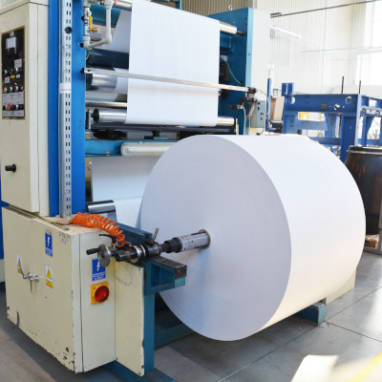 service – printing house – flexo printing roll to roll