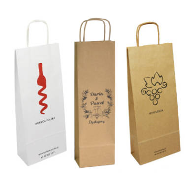 paper bags for alcohol – custom printing