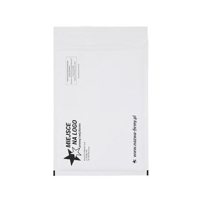 Weiße Kraft Bubble Peel & Seal Taschen – Benutzerdefiniertes Drucken