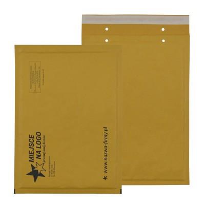 Braune Kraft Bubble Peel & Seal Taschen – Benutzerdefiniertes Drucken