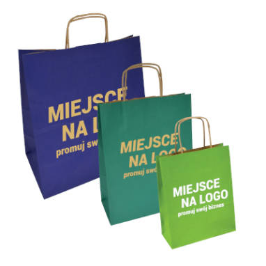 colour paper eco bags – custom printing