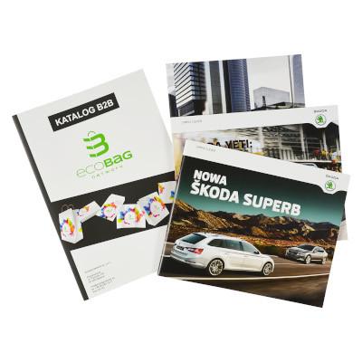 Katalogi i ulotki – z nadrukiem