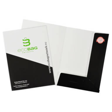 company document folder – custom printing